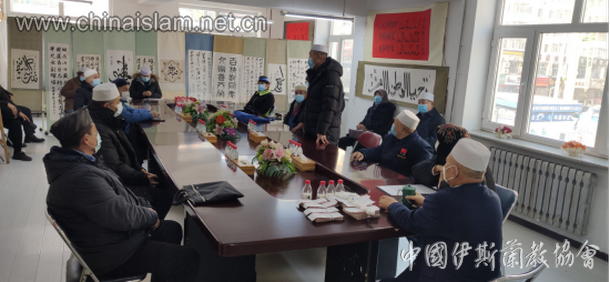 哈尔滨市伊协举办敬老扶贫献爱心活动